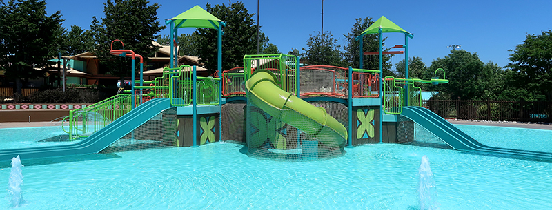 White Water Aquatic Play Unit